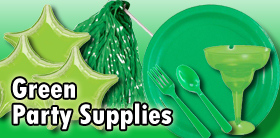 Green Party Supplies