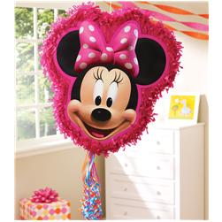 Minnie Mouse 18'' Pull String Pinata