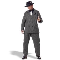 Gangster Plus Adult Costume