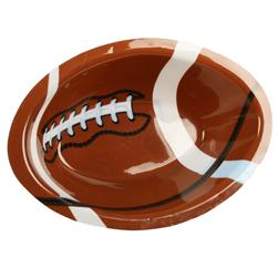 Football Shaped Plastic Bowl