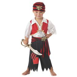 Ahoy Matey! Pirate Toddler Costume