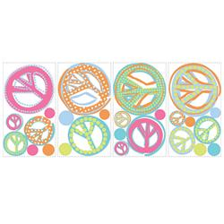 Peace Sign Removable Wall Decorations