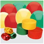 Red, Green and Yellow Decorating Kit