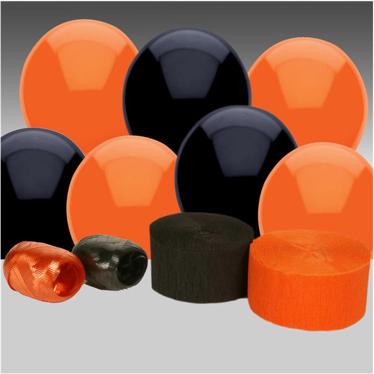 Black and Orange Decorating Kit