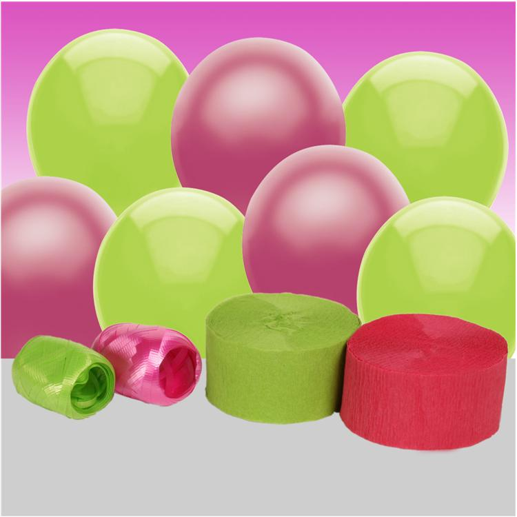 Bright Pink and Kiwi Decorating Kit