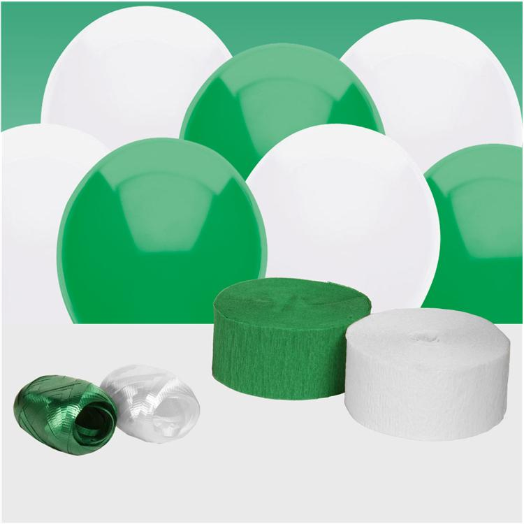 Green and White Decorating Kit
