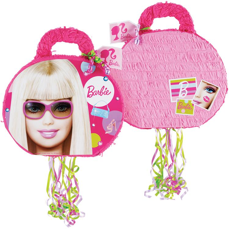 Barbie All Doll'd Up 19'' Pull-String Pinata