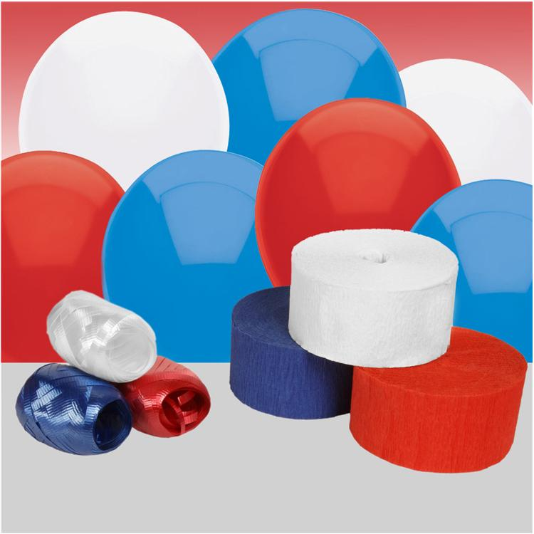 Red, White and Blue Decorating Kit