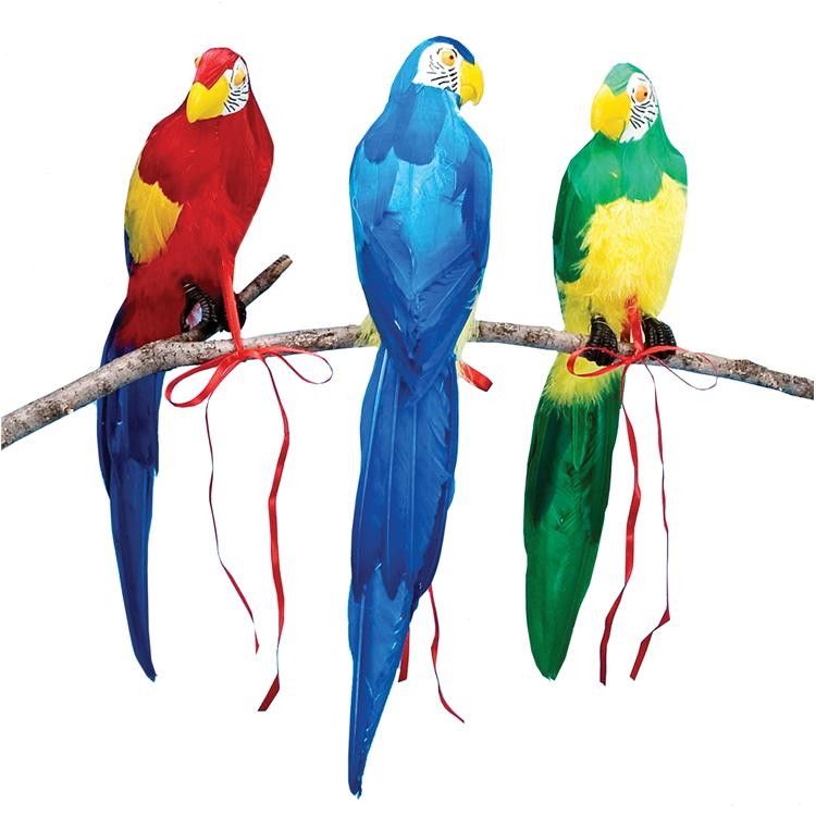 20'' Parrot Assorted