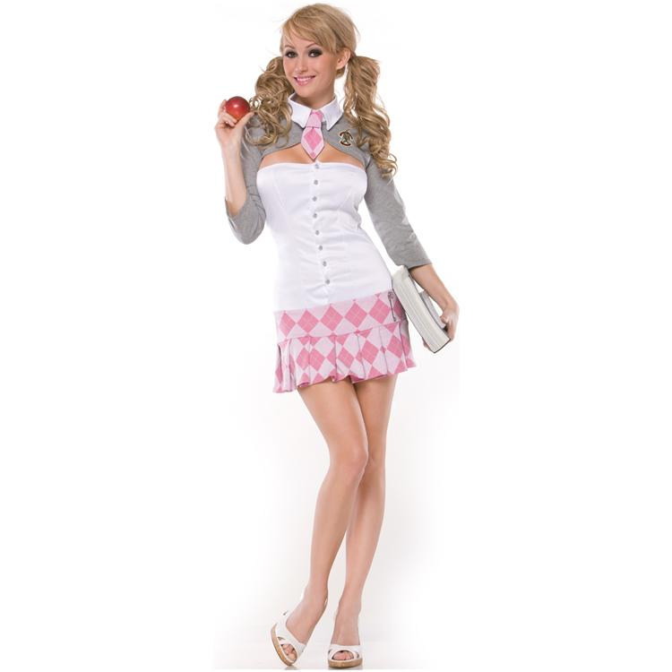 Prep School Girl Adult Costume