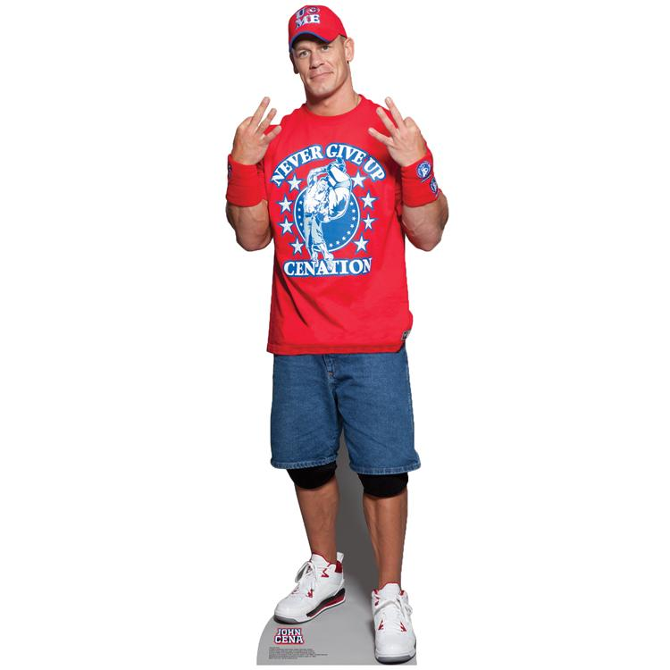 John Cena Never Give Up WWE Standup