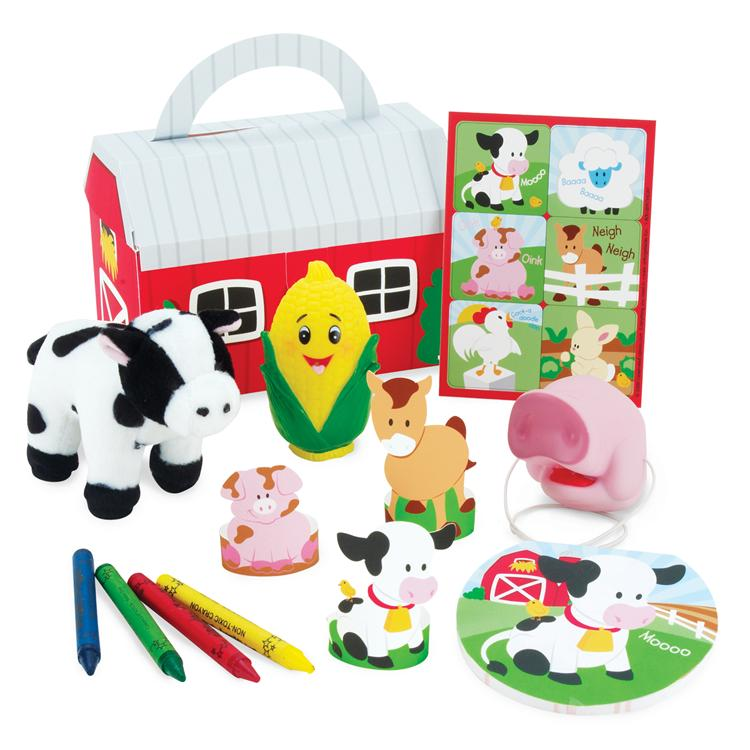 Barnyard Party Favor Box